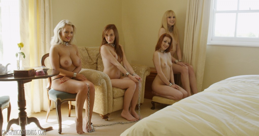 Hannah Claydon, Sophia Smith, Scarlot Rose and Ariel Anderssen